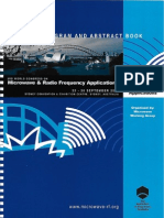 3rd World Congress on Microwave and Radio Frequency Applications, Sydney, 2002