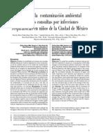 ContaminacionArie EnfermedadesNiños Mexico
