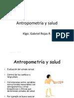 Antropometria y Salud 2011
