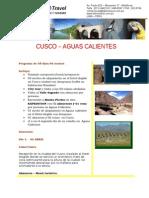 Cusco 05dias-04noches -Vulco Srta. Fernandez