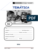 5° MATEMATICA-ugel-2014