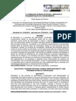 Educação, Formação Humana Integral, Mercado e Fragmentação do Conhecimento