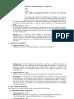Principales Diferencias Entre La Constitucion de 1979 y 1993