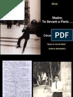 Madre, te llevare a Paris - Poema de Cesar Calvo