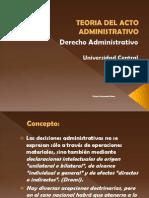 Teoria Del Acto Administrativo-2
