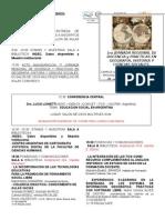 PROGRAMA de La 1a Jornada Regional Docencia y Practicas Geografía, Historia y Ciencias Sociales