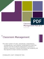 classroom management plan pollitt