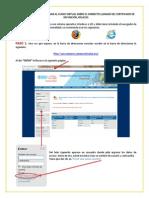 TUTORIAL Curso Virtual Llenado Certificado Defuncion GT4