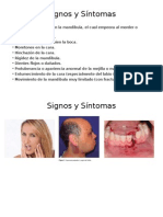 signos sintomas imagenologia