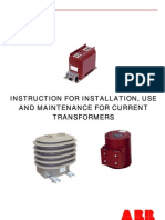 Instruction for Installation and Maintenance_CT_a