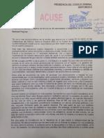 Respuesta del INE a los padres de los 43 de Ayotzinapa