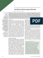Cardiovascular Effects of Marine Omega-3 Fatty Acids (the Lancet)