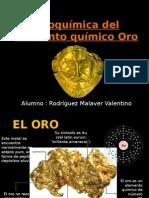 Geoquimica Oro