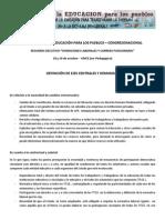 Condiciones Laborales y Carrera Funcionaria - Síntesis Congreso Nacional