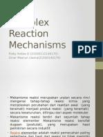 Complex Reaction Mechanisms