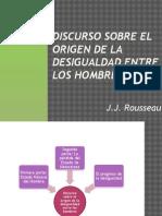 Discurso Sobre El Origen de La Desigualdad Rousseau