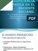 Insuficiencia Hepatica en El Paciente Anciano
