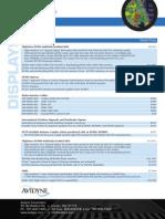 Retail Price Avidyne and Interface