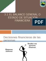 3.1 Estado de Situacion Financiera