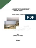 Informe Tecnico de Arqueologia