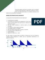 Modelo de Produccion Por Deficit