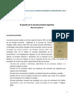 Educacion y Tic El Pasado de La Escuela Primaria Argentina