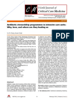 Antibiotic Stewardship Programmes in Intensive Care Units
