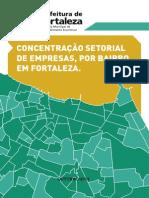 Concentração Setorial de Empresas, Por Bairro Em Fortaleza