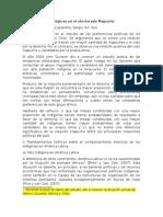 Ficha Preferencias Ideológicas y Adhesión Étnica en El Electorado Mapuche