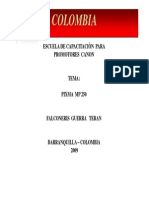 Capacitacion Pixma Mp250