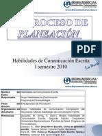 Planeación y Transcripción