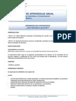 Plan Anual Aprendizaje 6ºBásico Lenguaje 2015