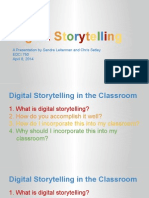 digital storytelling presentation