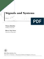 Signal and Systems - Simon Haykin - 1999 Copy