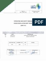 CDU-VDU Operating Manual