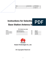 Instruction for Selecting GSM BTS Antenna Models-20021024-A-2.0