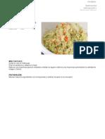 Recetas Gastronomia Industrial