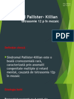 Sindromul Pallister- Killian