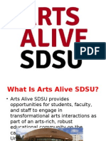 arts alive presentation
