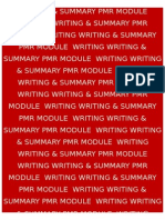 3 PMR WRITING & SUMMARY MODULES 2012.docx