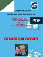 Sindrom Down Faizal