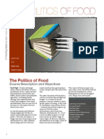 Syllabus Academic Writing Seminar Food Politics Fall 2014 (1)
