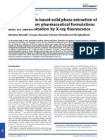 Graphene Oxide-based Solid Phase Extraction of Vitamin B12 From Pharmaceutical Formulations