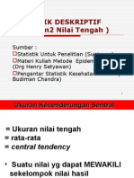 Ukuran Tendency Central