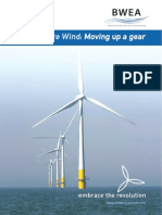 UK Offshore Wind - Moving Up a Gear