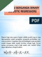Regresi Berganda Binary (Logistic Regression)