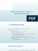 Artificial intelligence propositional logic
