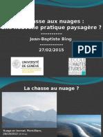 Mésologiques Nuages / powerpoint