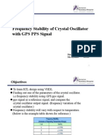 Frequency Stability of Crystal Oscillator_presentation