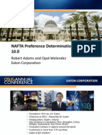 1002 NAFTA Preference Determination in GTS 10 0